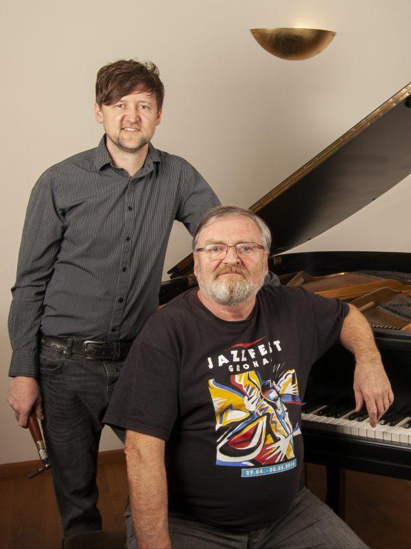 Klaus Dragstra und Andreas Lienesch